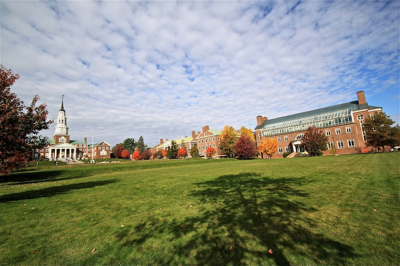 Fall in Maine - Colby College in Waterville