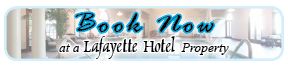 Book Now at Lafayette Hotels