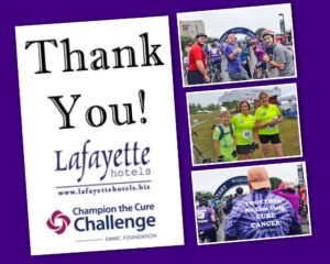 Thank you to Lafayette Hotels